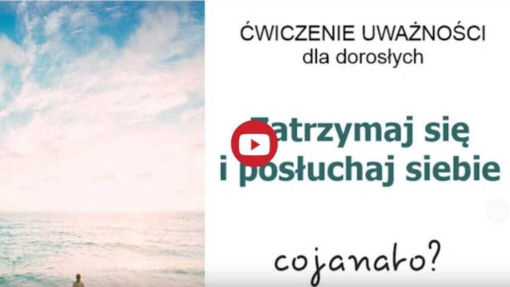 Kurs mindfulness dla młodzieży w wieku 15-19 lat - ćwiczenie Zatrzymaj się i posłuchaj siebie - Warszawa