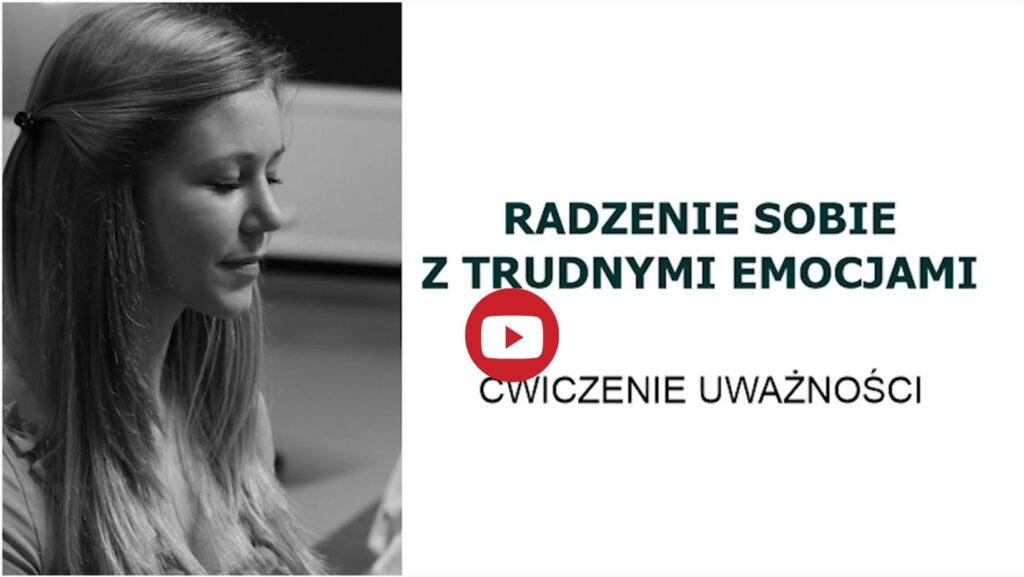 Kurs mindfulness dla nastolatków w wieku 12-14 lat - ćwiczenie Radzenie sobie z trudnymi emocjami Warszawa